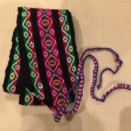 mas fiable gran variedad de nueva apariencia Cinturón Negro peruano de Huancavelica - Perú 120cm - EL INTI - Tu Tienda  peruana