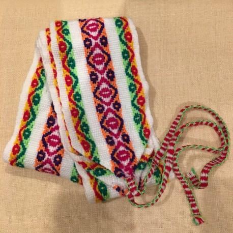 compra venta mejor calidad gran descuento Cinturón Blanco peruano de Huancavelica - Perú 120cm - EL INTI - Tu Tienda  peruana