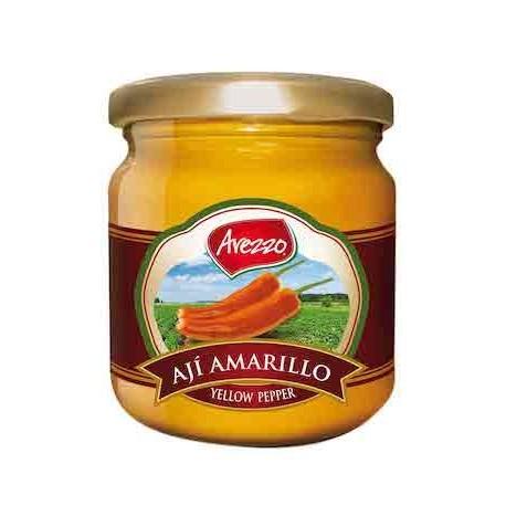 Ají Amarillo / Verde / Escabeche peruano fresco en Pasta Arezzo / Cocina peruana / Perú